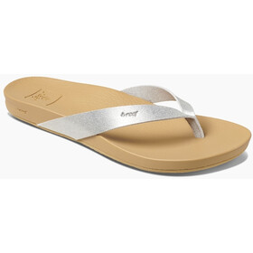 Reef Cushion Bounce Court Sandalias Mujer, silver